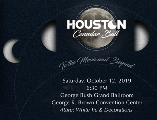 Opportunity to Attend the 2019 Houston Consular Ball, Oct. 12