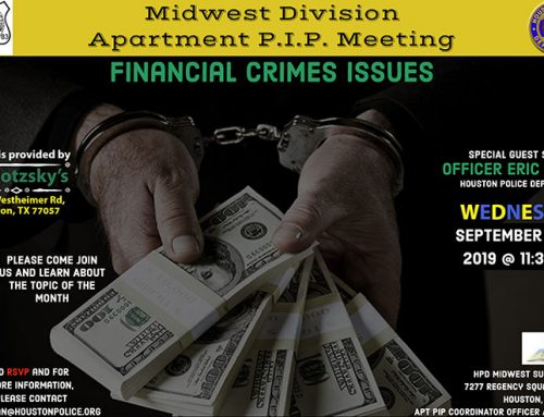 Midwest Division Apartment P.I.P. Meeting, Sept. 18