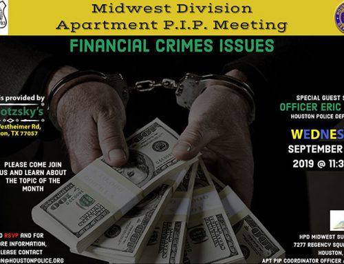 Midwest Division Apartment P.I.P. Meeting, Sept. 18