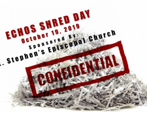 ECHOS Shred Day, Oct. 19