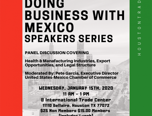 HITDC: Doing Business with Mexico Speaker Series