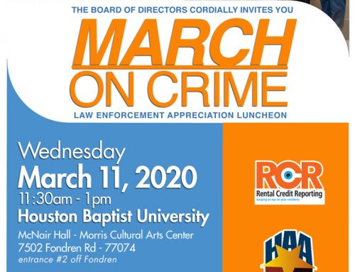 March on Crime Law Enforcement Appreciation Luncheon, Mar. 11
