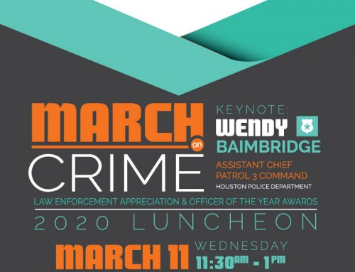 2020 March on Crime Luncheon, March 11