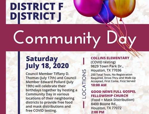 Celebrate Community Day, July 18