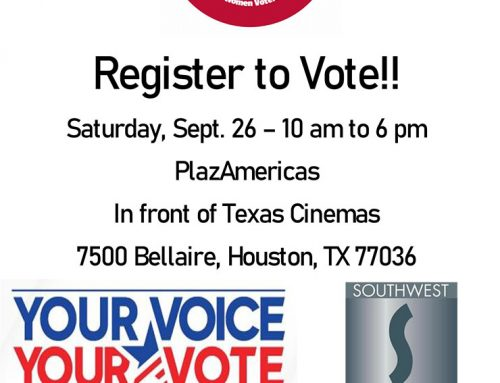 League of Women Voters: Voter Registration Outreach at PlazAmerica Mall