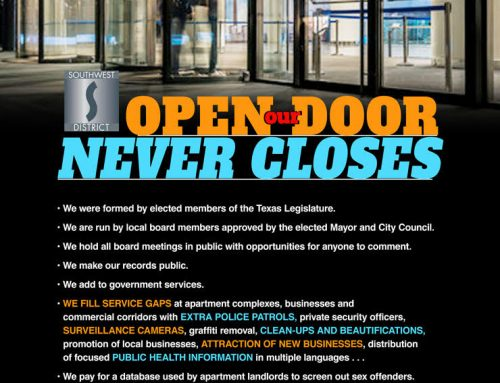 Our Open Door Never Closes
