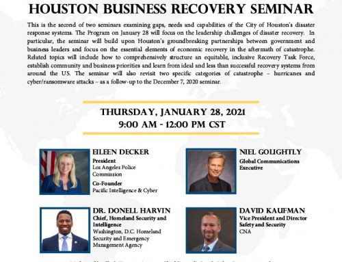 Invitation to City of Houston Program for the Small Business Community
