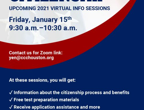 Free Citizenship Info Session, Jan. 15