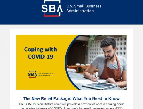 SBA: Economic Aid Act – PPP & EIDL Updates