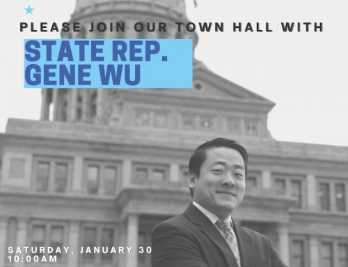 State Rep. Gene Wu: HD 137 Legislative Town Hall