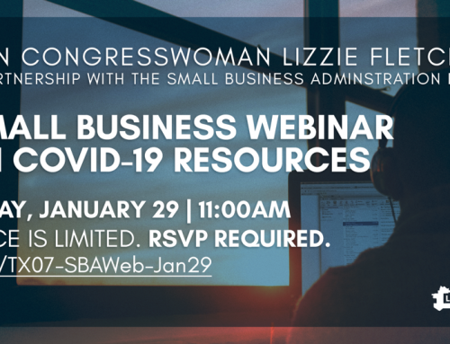Small Business Webinar on COVID-19 Resources, Jan. 29