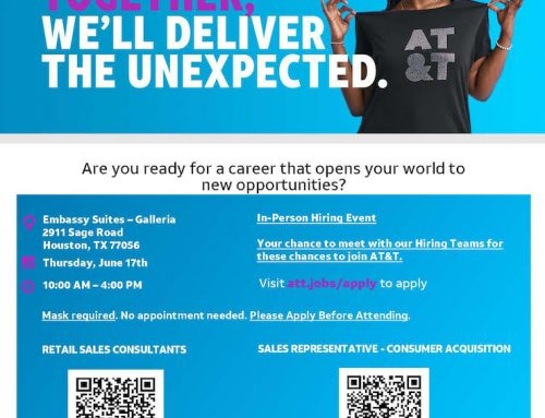 AT&T Job Fair, Tomorrow – Thursday, June 17
