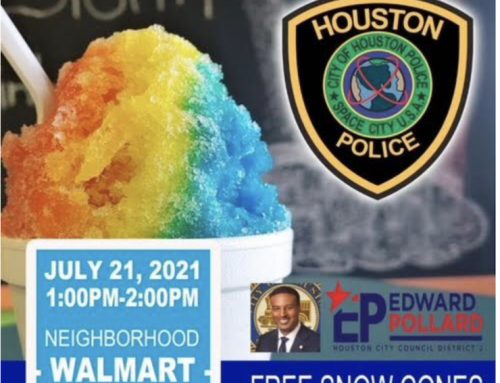 Snow Cone With a Cop, July 21