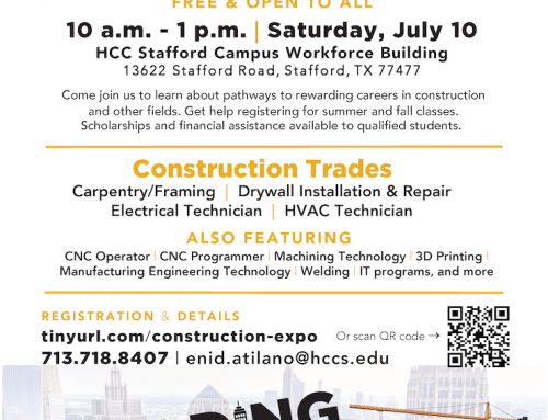 HCC Construction Careers Expo+, July 10