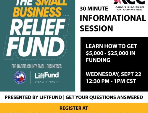 Info Session: Harris County Small Business Relief Fund, Sept. 22
