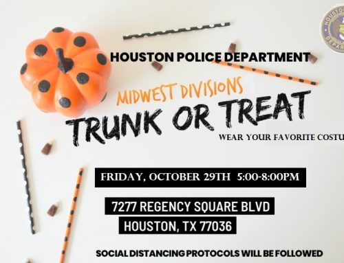 HPD Midwest Division: Trunk or Treat, Oct. 29